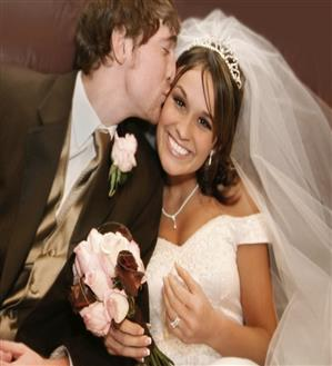 Evansville DJ Services Bride and Groom